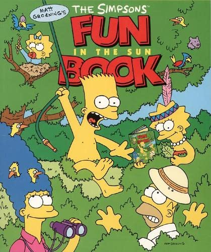 9780006531012: The Simpsons Fun in the Sun Book