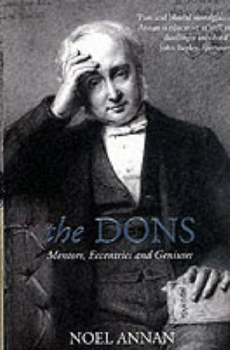 9780006531302: The Dons: Mentors, Eccentrics and Geniuses