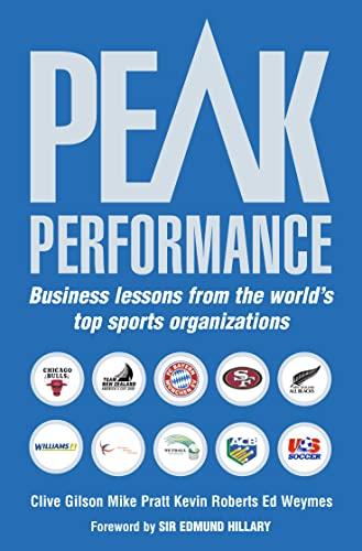 9780006531852: Peak Performance