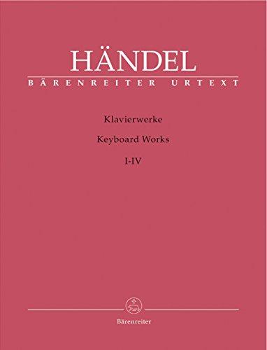 9780006532613: BARENREITER HÄNDEL G. F. - KLAVIERWERKE BAND 1-4 Classical sheets Harpsichord
