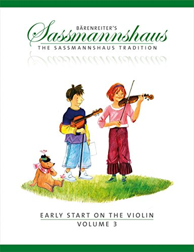 9780006536420: The Sassmannshaus Tradition: Early Start on the Violin, Volume 3