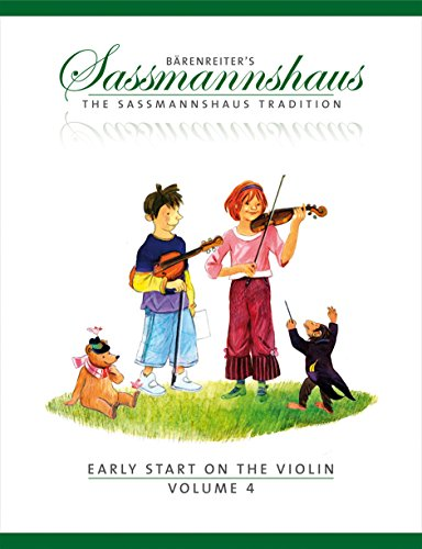 9780006536437: The Sassmannshaus Tradition: Early Start on the Violin, Volume 4