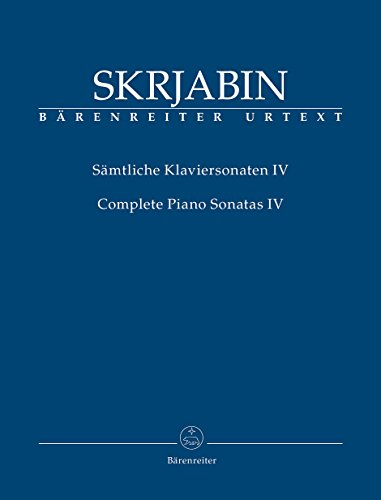 9780006536932: Scriabin: Piano Sonatas - Volume 4