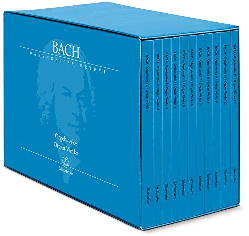 9780006539155: Bach, Johann Sebastian (1685-1750) Orgelwerke. Band 1-11 (im Schuber) (Bärenreiter Urtext)