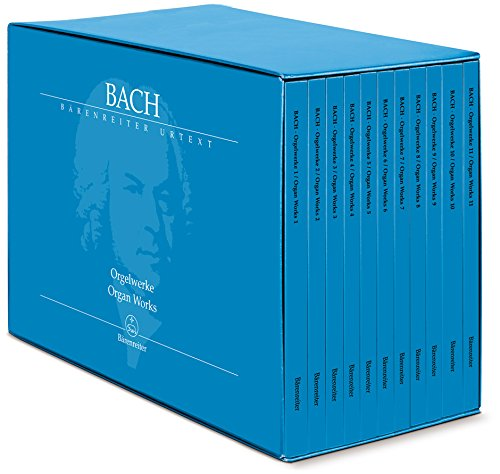 9780006539155: Bach, Johann Sebastian: The Complete Organ Works - 11 volumes