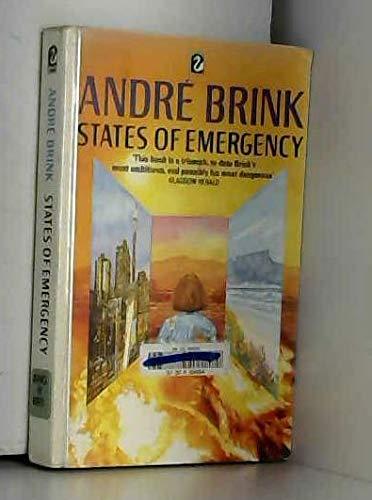 9780006543190: States of Emergency (Flamingo)
