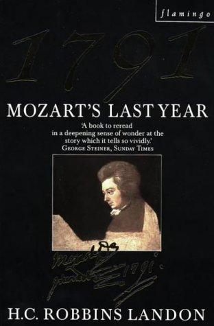 9780006543244: 1791: Mozart's Last Year (Flamingo)