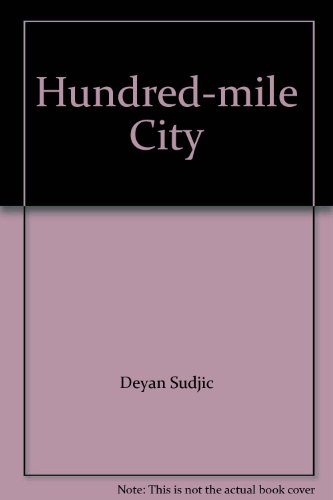 9780006545378: One Hundred Mile City