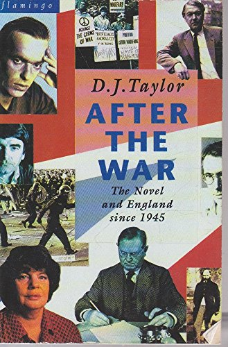 9780006547532: After the War: Novel and English Society Since 1945