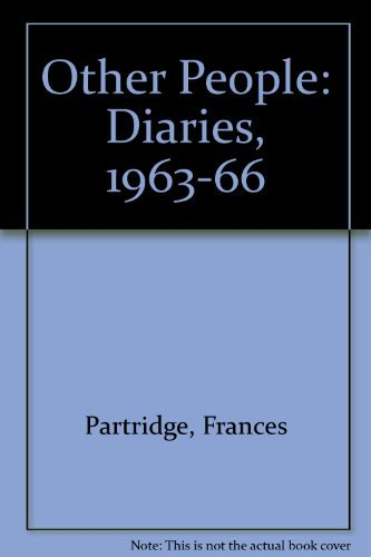 9780006547952: Other People: Diaries, 1963-66