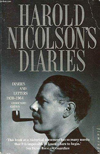 9780006550419: Harold Nicolson : Diaries
