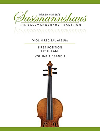 9780006559566: SASSMANNSHAUS - Recital Album First Position Vol.1 para Violin y Piano o 2 Violines
