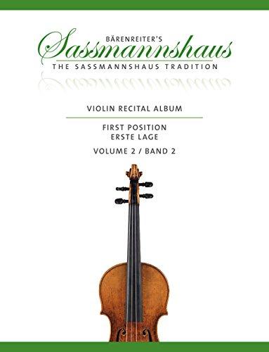 9780006559573: Violin Recital Album, Band 2: 13 Vortragsstücke in der ersten Lage für Geige und Klavier oder für zwei Geigen. Partitur