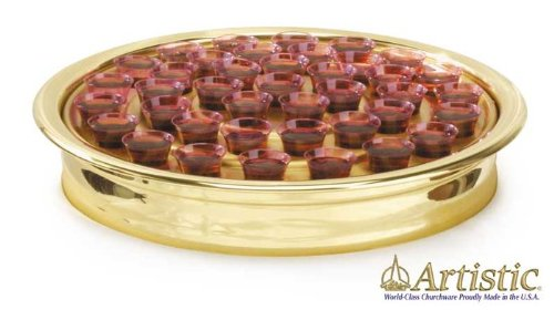 9780006563174: Brasstone Communion Tray