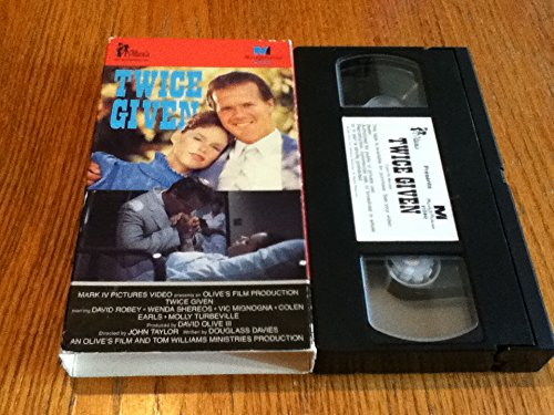 9780006566830: Twice Given [VHS]