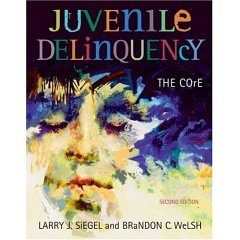 9780006602064: Juvenile Delinquency: The Core- Text Only