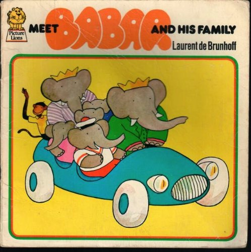 9780006606727: Meet Babar and His Family (Armada Picture Lions)