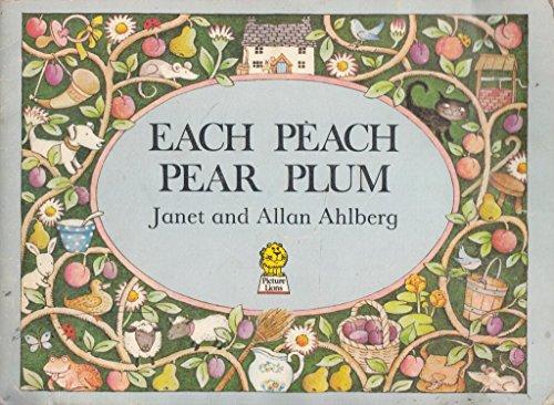 9780006616788: EACH PEACH PEAR PLUM: BOARD BOOK