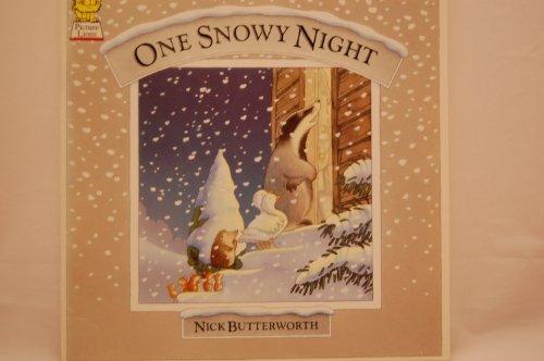 9780006640400: One Snowy Night