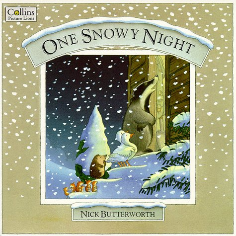 9780006643180: One Snowy Night (Percy the Park Keeper)