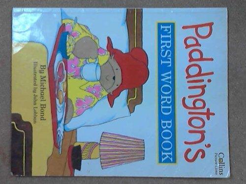 9780006645290: Paddington's First Word Book
