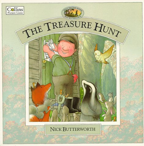 The Treasure Hunt (Percy the Park Keeper): Butterworth, Nick
