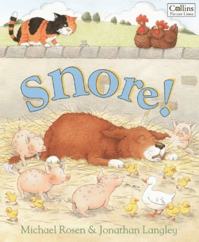 9780006646396: Snore! (Collins Picture Lions)