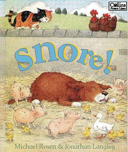 9780006646396: Snore! (Collins picture lions)