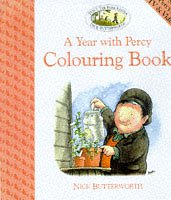 9780006646518: Percy the Park Keeper - A Year with Percy: Colouring Book