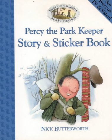 9780006646525: Percy the Park Keeper - Story and Sticker Book