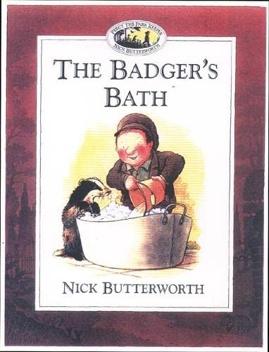 9780006646921: The Badger's Bath (Percy the Park Keeper)