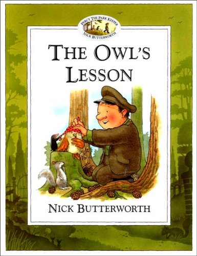 9780006647430: The Owl's Lesson (Percy the Park Keeper)