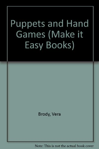 9780006709244: Puppets and Hand Games (Make it Easy Bks.)