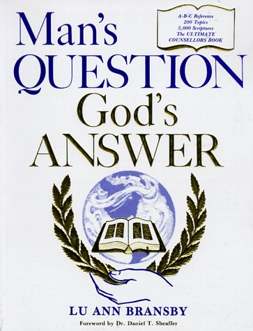 9780006729648: Man's Question - God's Answer