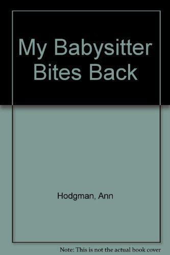 9780006746706: My Babysitter Bites Back