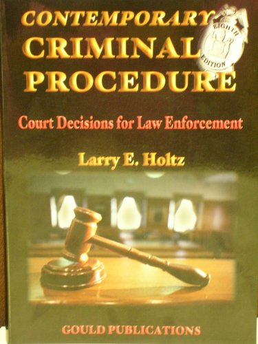 9780006823148: Contemporary Criminal Procedure- Text Only