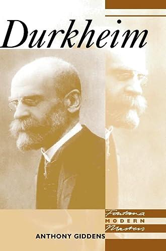 9780006860068: Fontana Modern Masters - Durkheim