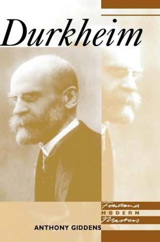 9780006860068: Durkheim (Modern Masters)