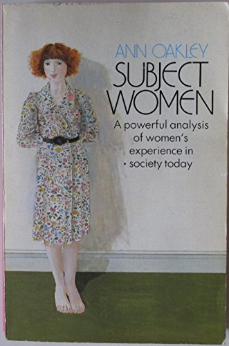 9780006860594: Subject Women
