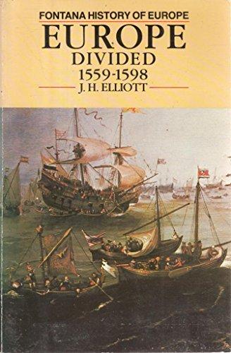 9780006860617: Europe Divided, 1559-98 (Fontana History of Europe)