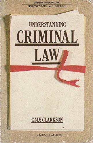 9780006860747: Understanding Criminal Law (Understanding Law)