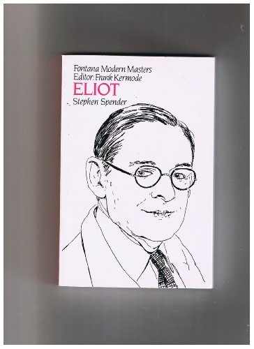 9780006861034: Eliot (Modern Masters)