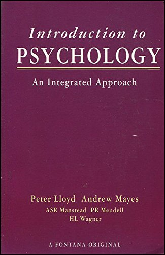 9780006861232: Introduction to Psychology: An Integrated Approach