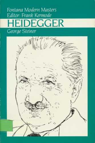 9780006861423: Heidegger (Fontana Modern Masters)
