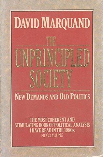 9780006861539: The Unprincipled Society