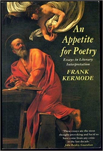 9780006861812: An Appetite for Poetry. Essays in Literary Interpretation.