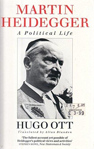 9780006861874: Martin Heidegger: A political life