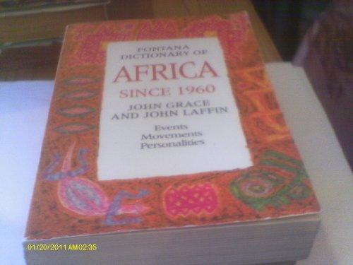 9780006862147: Fontana Dictionary of Africa Since 1960
