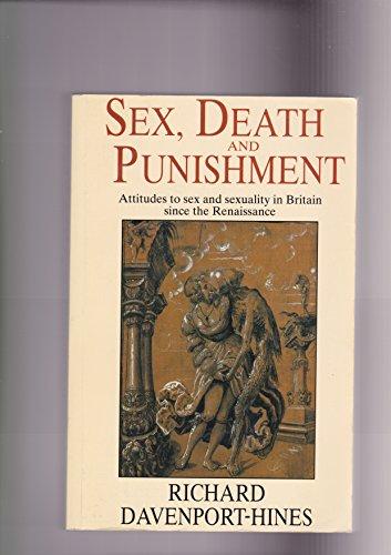 9780006862192: Sex, Death and Punishment