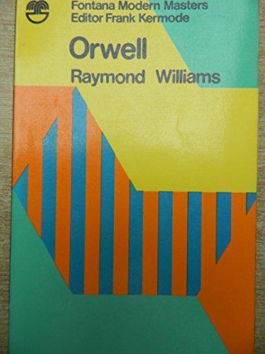 9780006862277: Orwell (Modern Masters)